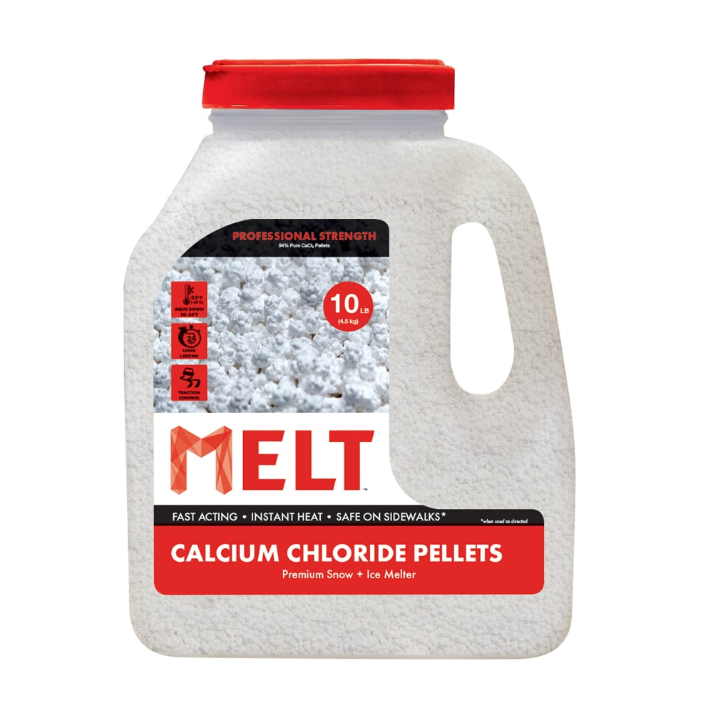 Snow Joe Calcium Chloride Pellets Ice Melter 10 lb. Jug (...
