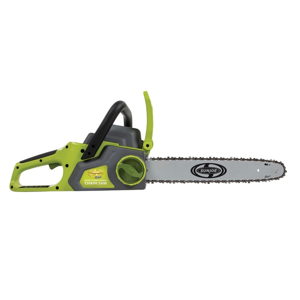 Sun joe ion16cs ct ion 40 volt cordless 16 inch chainsaw with sun joe ion16cs ct ion 40 volt cordless 16 inch chainsaw with brushless greentooth