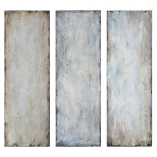 Textured Trio Abstract Art (Set of 3)