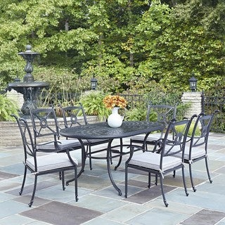 Home Styles Athens 7-piece Dining Set with Arm Chairs