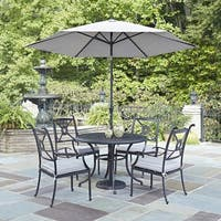 Athens 5-piece Dining Set with Arm Chairs by Home Styles