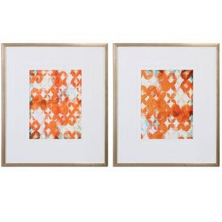 Overlapping Teal And Orange Modern Art (Set of 2)|https://ak1.ostkcdn.com/images/products/11048354/P18060717.jpg?impolicy=medium