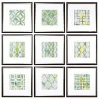 Metric Links Geometric Art (Set of 9) - Multi