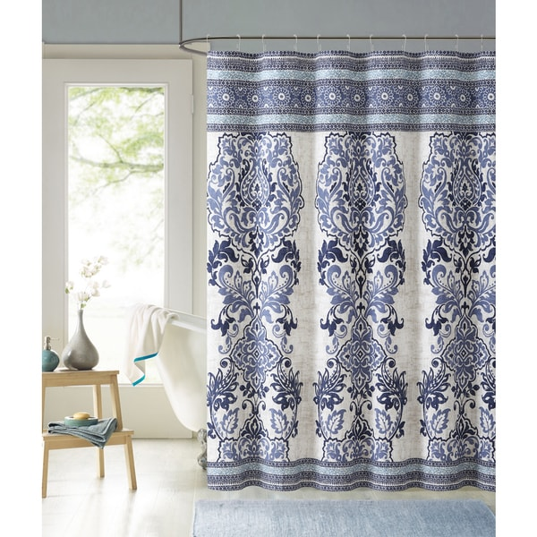 Shop VCNY Maya 100 Cotton Shower Curtain - Free Shipping On Orders ...