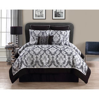 VCNY Walton Grey 8-piece Comforter Set
