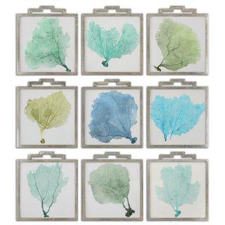 Sea Fans Framed Art (Set of 9)
