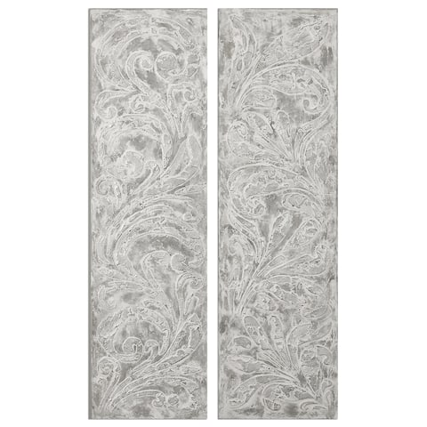 Frost On The Window Wall Art (Set of 2)