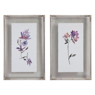 Floral Watercolors Art (Set of 2)