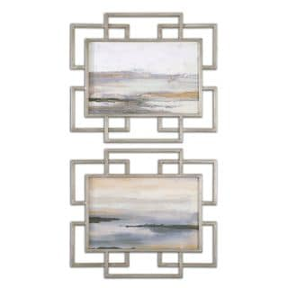 Gray Mist Framed Art (Set of 2)