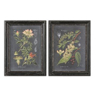 Midnight Botanicals Wall Art (Set of 2)
