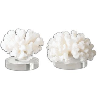 Hard Coral Sculptures (Set of 2)