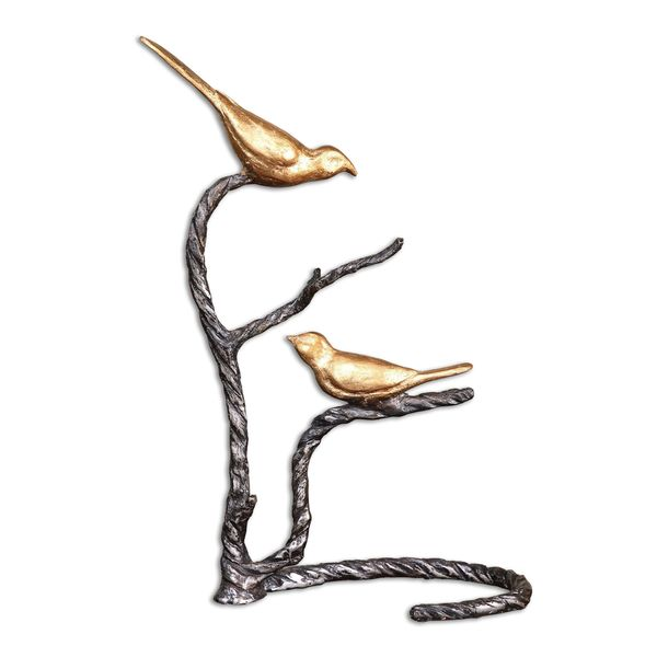 Birds On A Limb Sculpture by Uttermost