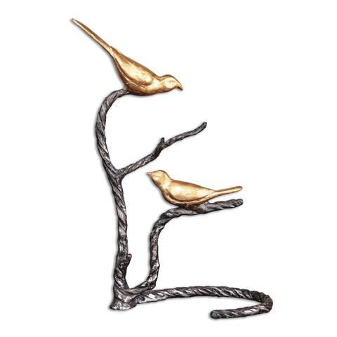 Birds On A Limb Sculpture