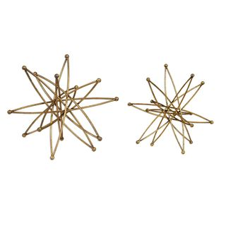 Constanza Gold Atom Accessories (Set of 2)