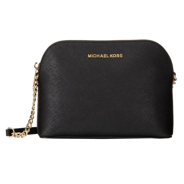 25bbc1ac9fd6 Shop MICHAEL Michael Kors Cindy Large Dome Crossbody - Free Shipping ...