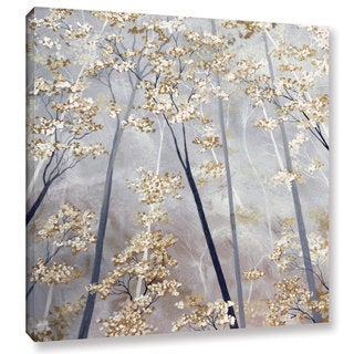 ArtWall Herb Dickinson's Taupe Forest, Gallery Wrapped Canvas