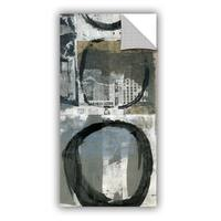 ArtAppealz Elena Ray 'Black Ink Enso Circle' Removable Wall Art