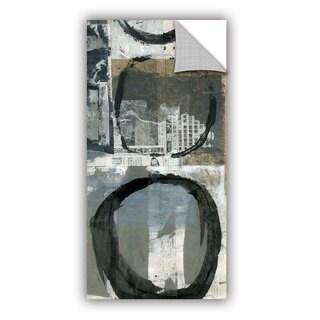 ArtAppealz Elena Ray 'Black Ink Enso Circle' Removable Wall Art