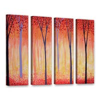ArtWall Herb Dickinson's Placid, 4 Piece Gallery Wrapped Canvas Set - Multi