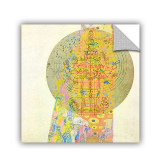 ArtAppealz Elena Ray 'Blessings From The Goddess' Removable Wall Art