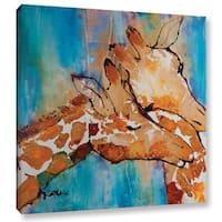 ArtWall Trish Mckinney's Cuddle II, Gallery Wrapped Canvas