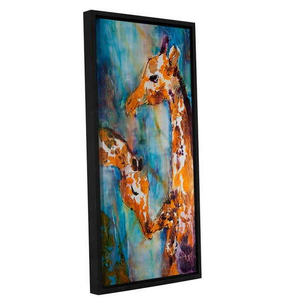 ArtWall Trish Mckinney's Protection, Gallery Wrapped Floater-framed Canvas