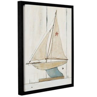 ArtWall David Carter Brown's Pond Yacht 2, Gallery Wrapped Floater-framed Canvas