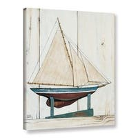 ArtWall David Carter Brown's Racer 1, Gallery Wrapped Canvas