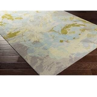 Machine Made Rakiraki Polyester Rug (2' x 3')