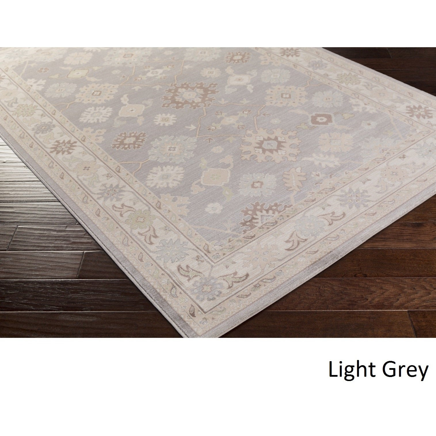 Meticulously Woven McPhatter Rug (7'8 x 10'6) (Light Grey...