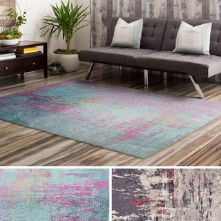 Machine Made Rayleigh Polyester Rug (5' x 7'6)