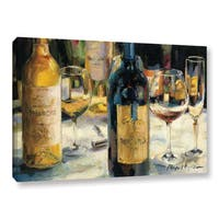 ArtWall Marilyn Hageman's Bordeaux And Muscat, Gallery Wrapped Canvas - YELLOW