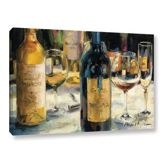 ArtWall Marilyn Hageman's Bordeaux And Muscat, Gallery Wrapped Canvas