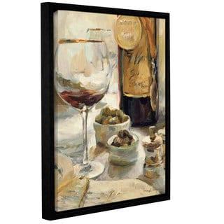 ArtWall Marilyn Hageman's Award Winning Wine 1, Gallery Wrapped Floater-framed Canvas