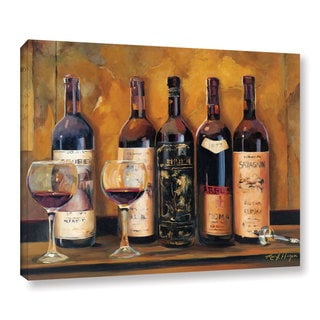 ArtWall Marilyn Hageman's Cellar Reds, Gallery Wrapped Canvas