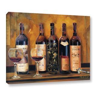 ArtWall Marilyn Hageman's Cellar Reds, Gallery Wrapped Canvas