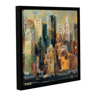 ArtWall Marilyn Hageman's New York, New York, Gallery Wrapped Floater-framed Canvas