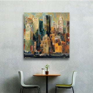 ArtWall Marilyn Hageman's 'New York, New York' Gallery-wrapped Canvas