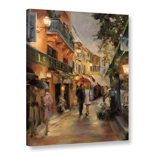 ArtWall Marilyn Hageman's 'Evening In Paris' Gallery Wrapped Canvas|https://ak1.ostkcdn.com/images/products/11050333/P18062433.jpg?impolicy=medium