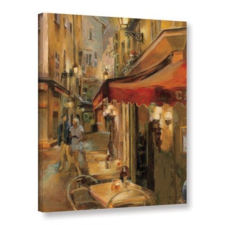 Marilyn Hageman's After The Show, Gallery Wrapped Canvas - Brown
