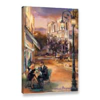 "ArtWall Marilyn Hageman ""Twilight Time In Paris"" Gallery-Wrapped Canvas"