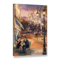 "ArtWall Marilyn Hageman ""Twilight Time In Paris"" Gallery-Wrapped Canvas"