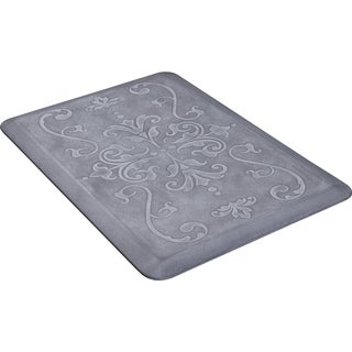 WellnessMats 36-inch by 24-inch Estates Entwine Beach Glass Anti-Fatigue Floor Mat