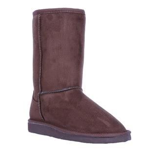 Coshare Women's Aling-8 Slip On Classic Comfort Boots
