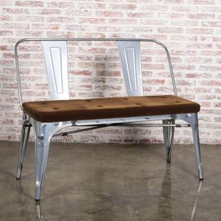 elio double bench rustic wood prices reviews deals. Black Bedroom Furniture Sets. Home Design Ideas