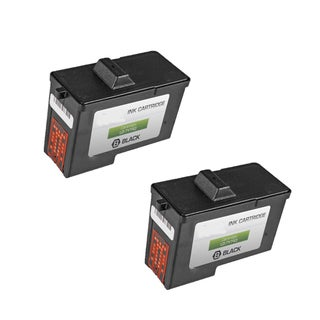 2-pack 7Y743 (X0502) Black Compatible Ink Cartridge for Dell A940Dell A960DELL A940 Inkjet Printerdell A960 (Pack of 2)
