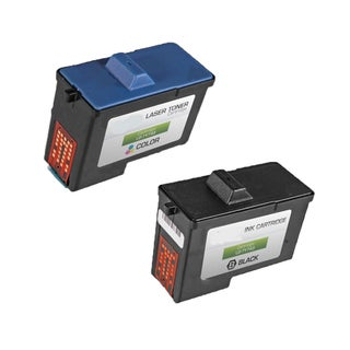 2-pack 7Y743 Black + 7Y745 Color Compatible Ink Cartridge for Dell A940Dell A960DELL A940 Inkjet Printerdell A960 (Pack of 2)