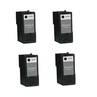 4-pack Compatible M4640 Black Ink Cartridge for Dell 922Dell 924Dell 942Dell 944Dell 946Dell 962Dell 964Dell 922Dell (Pack of 4)
