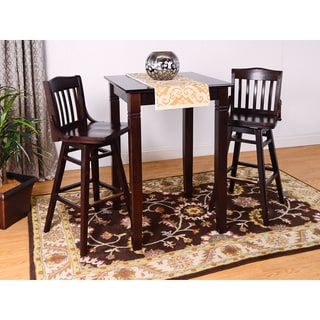 Library 3-piece Swivel Bar Set