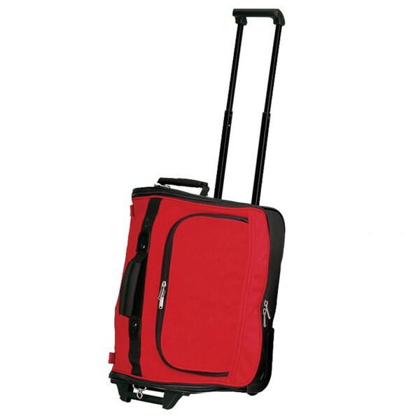 Goodhope Rolling Wheels Cosmetic Grooming Toiltries Duffel Bag